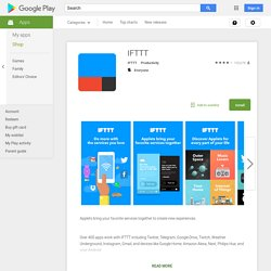 IF by IFTTT - App Android su Google Play