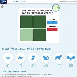 Test gratuit d'acuité visuelle