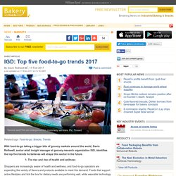 IGD: Top five food-to-go trends
