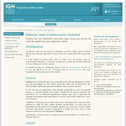 API Geoportail