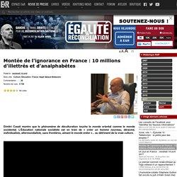 Montée de l'ignorance en France : 10 millions d'illettrés et d'analphabètes