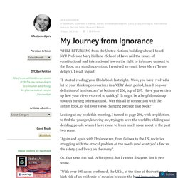 My Journey from Ignorance – lifebiomedguru