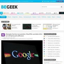 iGoogle ferme ses portes, StartMe semble être un remplaçant efficace