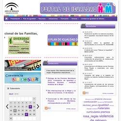 Igualdad - Inicio - Consejería de Educación