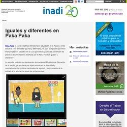 Iguales y diferentes en Paka Paka