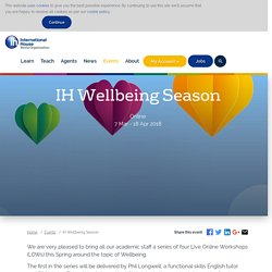IH Wellbeing Season