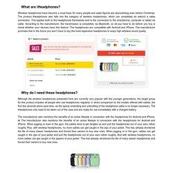 iHeadphones Review