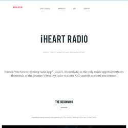 iHeart Radio - Arun Jacob - Product Designer