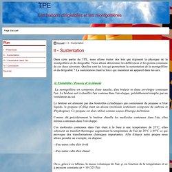 II - Sustentation - TPE