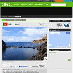 Geo.fr - Carte d'identité de l'île de Madère