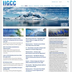 IIGCC (Institutional Investor Group on Climate Change)
