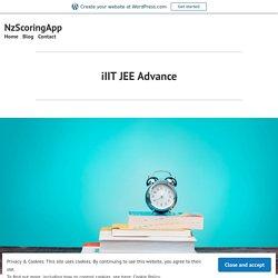 iIIT JEE Advance – NzScoringApp