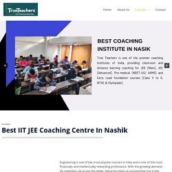 IIT Coaching Institutes In Nashik