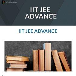 IIT JEE Advance