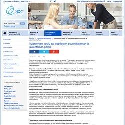 espoo.fi > Iivisniemen koulu sai oppilaiden suunnitteleman ja rakentaman pihan