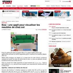 Ikea : une appli pour visualiser les meubles de chez soi