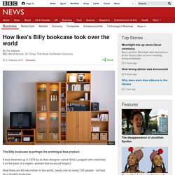 How Ikea's Billy bookcase took over the world
