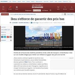 Sociétés : Ikea s'efforce de garantir des prix bas