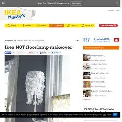 Ikea NOT floorlamp makeover