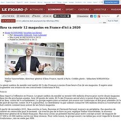 Ikea va ouvrir 12magasins en France d'ici à 2020