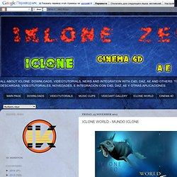 IKLONE ZERO 3D animation with ICLONE: ICLONE WORLD - MUNDO ICLONE