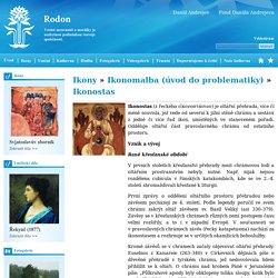 Ikonostas - Rodon
