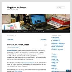 Magister Karlsson