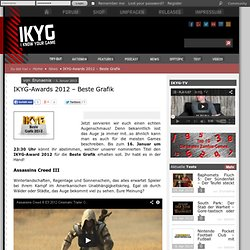 IKYG-Awards 2012 - Beste Grafik