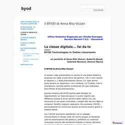 il BYOD di Anna Rita Vizzari - byod
