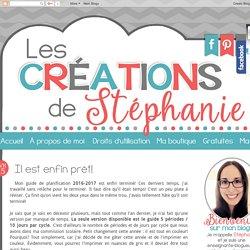 Les créations de Stéphanie: Il est enfin prêt!