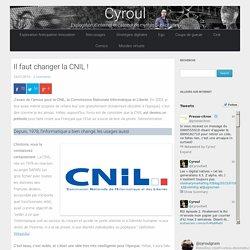 Il faut changer la CNIL ! ⋆ Cyroul