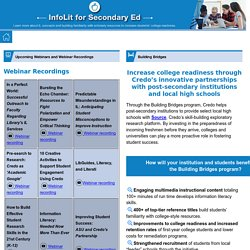 IL for Secondary Ed