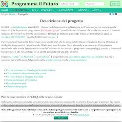 Il progetto - ProgrammaIlFuturo.it