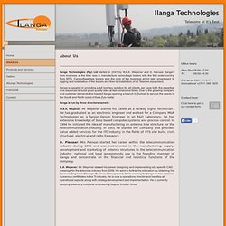 Ilanga Technologies - About Us