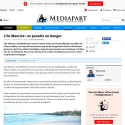 L'île Maurice: un paradis en danger