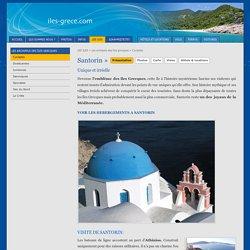Ile de Santorin Cyclades Grece