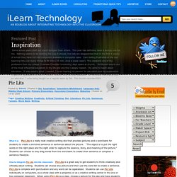 iLearn Technology » Blog Archive » Pic Lits