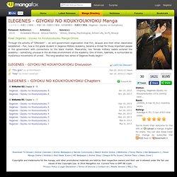 Ilegenes Manga - Read Ilegenes Manga Online for Free