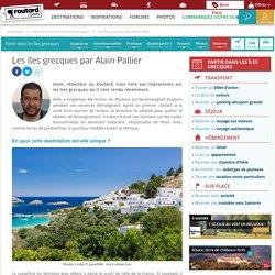 Les îles grecques par Alain Pallier