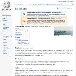 Îles San Blas wikipedia