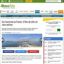 Des îles sans voiture qu'il fait bon découvrir en France !