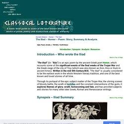 The Iliad - Homer - Ancient Greece - Classical Literature