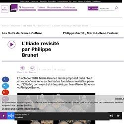 L'Iliade revisité par Philippe Brunet