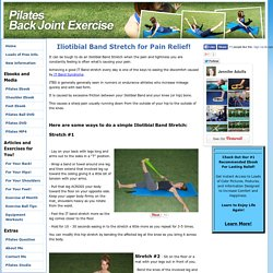 Iliotibial Band Stretch for Relief