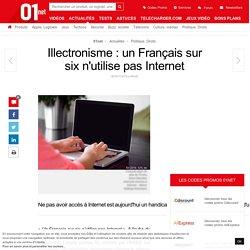 Illectronisme : un Français sur six n'utilise pas Internet