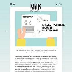 L'illectronisme, nouvel illettrisme ?