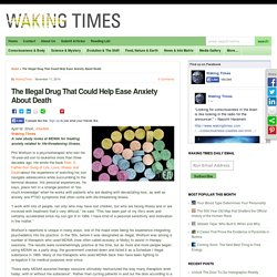 The Illegal Drug That Could Help Ease Anxiety About Death