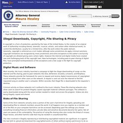 Illegal Downloads, Copyright, File Sharing & Piracy