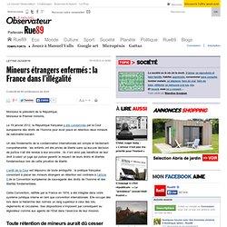 Mineurs étrangers enfermés: la France dans l'illégalité
