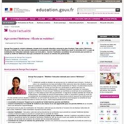 Agir contre l'illettrisme : l'École se mobilise !